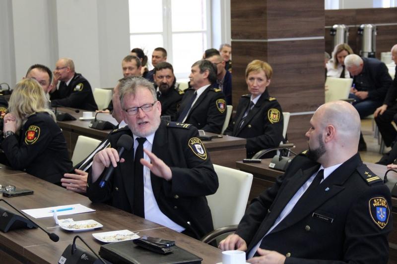 Konferencja straży Tczew24
