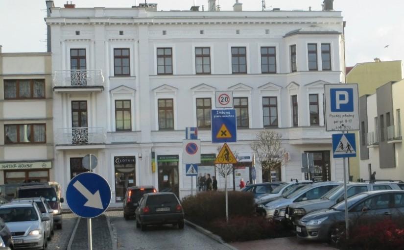 Zmiana organizacji ruchu w centrum miasta.