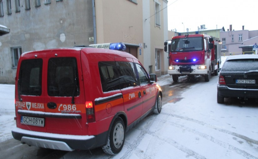 Pożar na ulicy Krętej