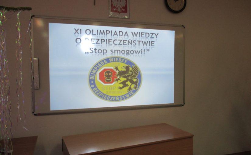 II etap XI Olimpiady Wiedzy o Bezpieczeństwie.