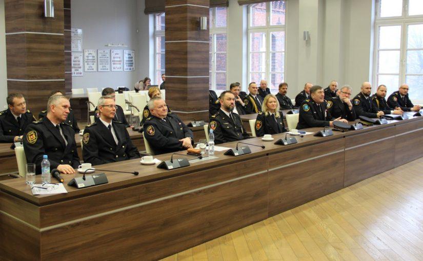 Spotkanie szkoleniowe komendantów.