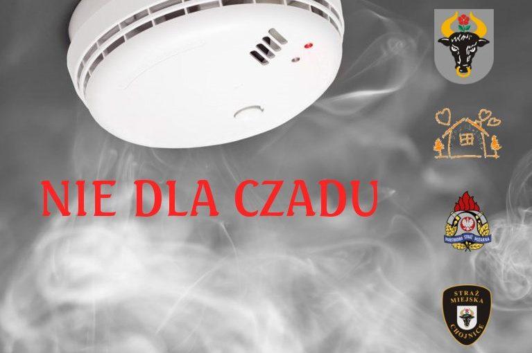 """""""Nie dla czadu"""" program ochrony mieszkańców Chojnic."""