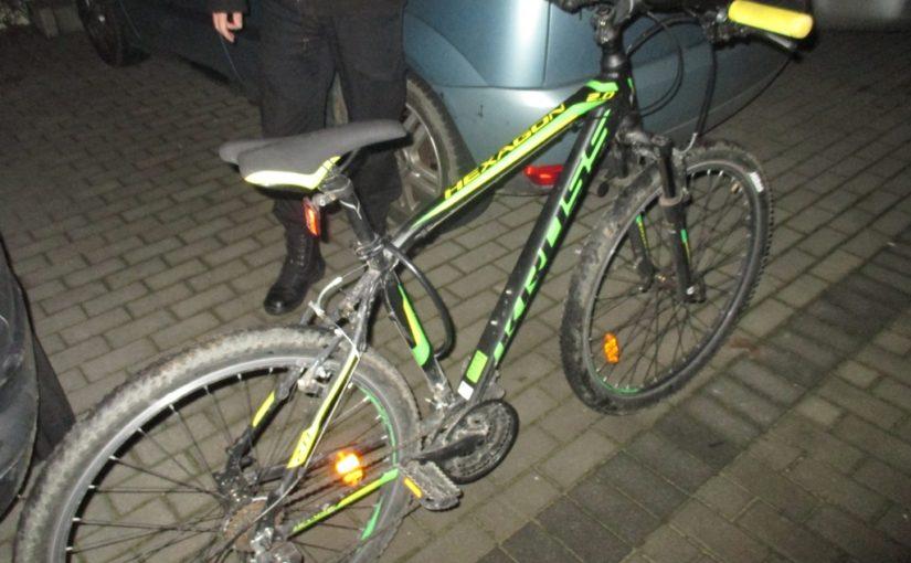 Właściciel odzyskał skradziony rower.