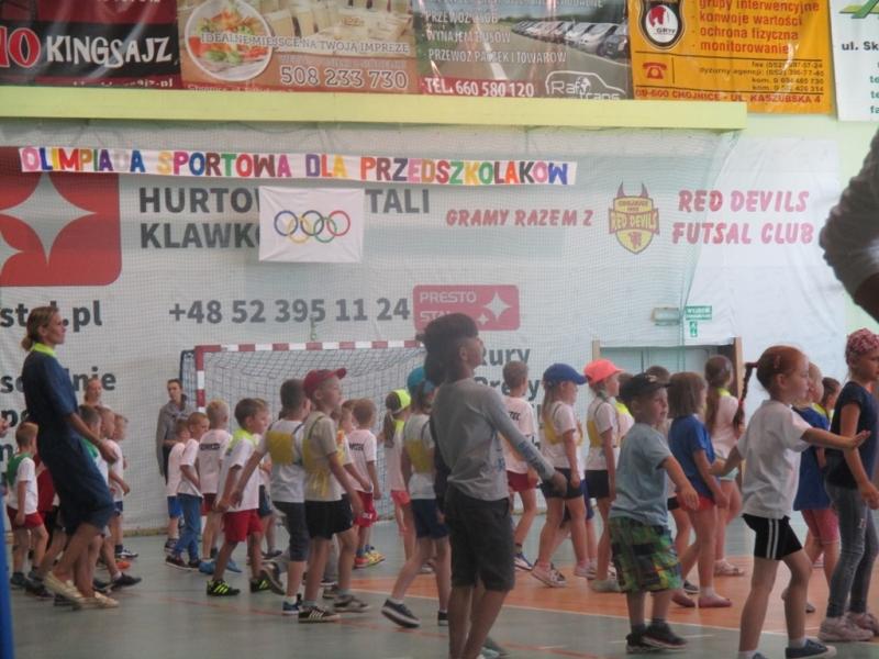 XI Olimp przedszkolaków (1a)
