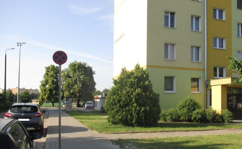 Ograniczenie parkowania na ulicy Rzepakowej.